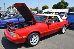 FABULOUS FORDS FOREVER 2015 (Navymailman) Tags: show park car berry body fox forever mustang fabulous fords knotts fff buena 2015 foxbody