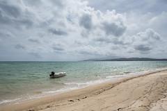 Tobago (qitsuk) Tags: sky cloud beach clouds boat scarborough caribbean pigeonpoint tobago trinidadandtobago westerntobago republiktrinidadundtobago