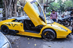 Lamborghini Murcielago SuperVeloce LP670-4 Crashed (Arsalan's Photography) Tags: vw drunk hit crash crashed rich huracan super run ferrari chicks diablo lamborghini rare wrecked sv countach gallardo exotics murcielago miura veloce superveloce aventador lp6704 lp670