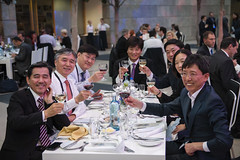 Korean delegates enjoying the Gala Dinner