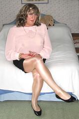 Ritacthrusit-004 (fionaxxcd) Tags: boobs tights crossdressing tgirl bust thighs tranny lipstick crossdresser rednails trannie mtf m2f wolford pantihose busum tgurl trnsvestite