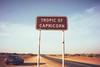 crossing the Tropic of Capricorn, Highway 1, Western Australia (Madellina Bird) Tags: road sunset car roadtrip stationwagon reddirt tropicofcapricorn