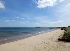 Blyth south beach at high tide (DavidWF2009) Tags: sea beach northumberland southbeach hightide blyth