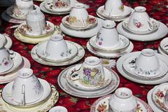 Cups and saucers (Dai Lygad) Tags: china uk greatbritain summer england cup tea unitedkingdom britain cups teacups saucer saucers stockphoto cupandsaucer stockimage chinacups