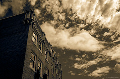 Admiral 1553 160522 (jetcitygrom) Tags: seattle street sky building architecture clouds facade 28mm editing gr ricoh tone lightroom