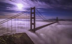 Cotton Candy (Simon Huynh) Tags: sanfrancisco california morning fog sunrise goldengatebride