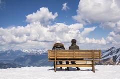 Enjoying the view (herecomesanothersongaboutmexico) Tags: snow austria resort zellamsee skilodge highaltitude kaprun austrianalps europetrip2016