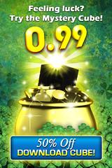 Rubiks Cube _ Saint Patrick's Day Ad (lezumbalaberenjena) Tags: art ads corporate design marketing video media graphic social games images cube branding rubiks logotype magmic