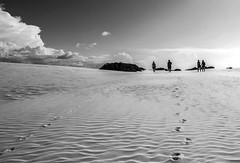 Caminhada (felipe sahd) Tags: brasil pessoas noiretblanc maranho dunas barreirinhas parquenacional lenismaranhenses 123bw