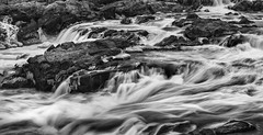 Great Falls at Midday. Potomac, MD. (Craig Hudson Photography) Tags: longexposure blackandwhite usa landscape dc washington unitedstates greatfalls maryland potomac potomacriver eastcoast traveldestination