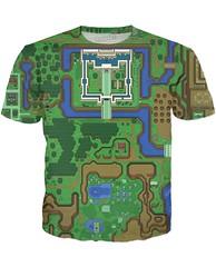 kebuenowilly: The Legend of Zelda, Hyrule light world t-shirt (Memes, T-Shirts) Tags: funny geek nintendo tshirt master gifts link sword zelda tshirts merch legend tee loz triforce hyrule