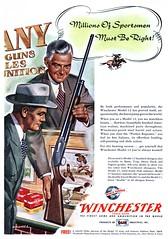 Winchester - 19501100 Sports Afield (Jon Williamson) Tags: history vintage advertising ad vintageadvertising vintagead vintascope