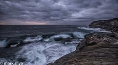 we in motion (mark silva) Tags: ocean cloud storm clouds sunrise waves sydney australia nsw cronulla kurnell capesolander kamaybotanybaynationalpark sonya7rii