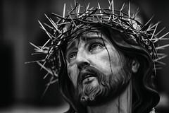 Ecce Homo (Mathas Brea) Tags: blancoynegro retrato religion lagrimas semanasanta talla