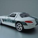 Mercedes Benz SLS - Majorette Dubai Police Die Cast 5 Pack