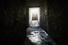 Inner Vision (duncan_mclean) Tags: black stone stairs dark scary steps creepy walls tunnels northhead damp devonport dank auckand