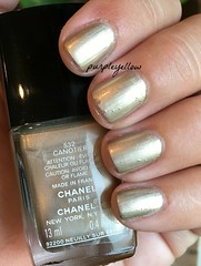 Chanel Canotier (purple yellow) Tags: nail polish chanel 532 canotier
