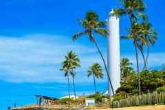 The Lighthouse (Jorge Hamilton) Tags: bahia brasil brazil praia do forte arco ris rainbow lua luar farol beach moolight jorgehamilton brandao brando