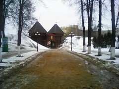 . Dmitrov Kremlin (lubovhoney) Tags: winter panorama phonephoto picturethis dmitrov         podmoscovye