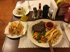 Standard island meal.
