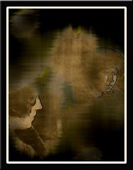 Frente al espejo (seguicollar) Tags: imagencreativa photomanipulacin art arte artecreativo artedigital virginiasegu retrato espejo reflejo mujer habitacin interior monocromo