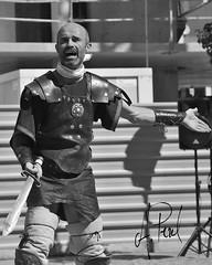 Gladiador 02 (A.Peral) Tags: bw blanco festival circo negro romano arena gladiator dies gipuzkoa irun biga gladius bidasoa oiasso oiassonis gladirador