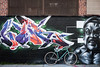 New York Street Art (jomak14) Tags: bianchipista gf2 lumixgvario1442f3556 newyork panasonic streetart wheremybiketakesme 2016 wellingcourtmuralproject astoriaqueens