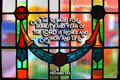 Proverbs 22:4 (dianabog ) Tags: bible scripture theword