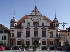 Town Hall, Hartberg, Austria (Norbert Bnhidi) Tags: austria hartberg sterreich autriche ustria oostenrijk  ausztria styria steiermark estiria styrie stiria estria stiermarken  stjerorszg
