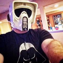 Biker Selfie (Matthew Allen Hecht) Tags: tree public star starwars costume free scout armor ap scifi imperial getty biker wars build royalty domain reuters endor hugger