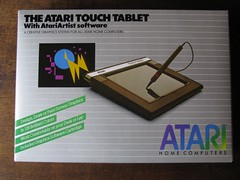 Atari CX77 Touch Tablet (1984) (retrocomputers) Tags: atari 8bit atari800 touchtablet