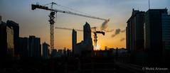 Jakarta : Urban Sunset (framerunner) Tags: sunset building indonesia nikon cityscape jakarta highrise casablanca kuningan megakuningan