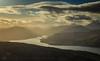 View from Ben Venue (GenerationX) Tags: sunset mountains water clouds landscape evening scotland nationalpark unitedkingdom dusk scottish neil gb trossachs lochlomond barr benlui benvenue lochkatrine stronachlachar beinnchabhair kinlochard beinnachroin stobachoin cruinnbheinn beinnachoin rubhanamoine lochtinker rubhanammult