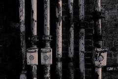 Ironworks (Arthur Koek) Tags: industrial industry industriekultur thyssen steel ironworks landscapepark landschaftspark ruhrpott ruhrgebiet alienskin exposure7 wetplate duisburg duisburgnord nrw nordrheinwestfalen northrhinewestphalia deutschland germany