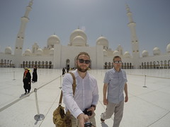 Mosque sightseeing!