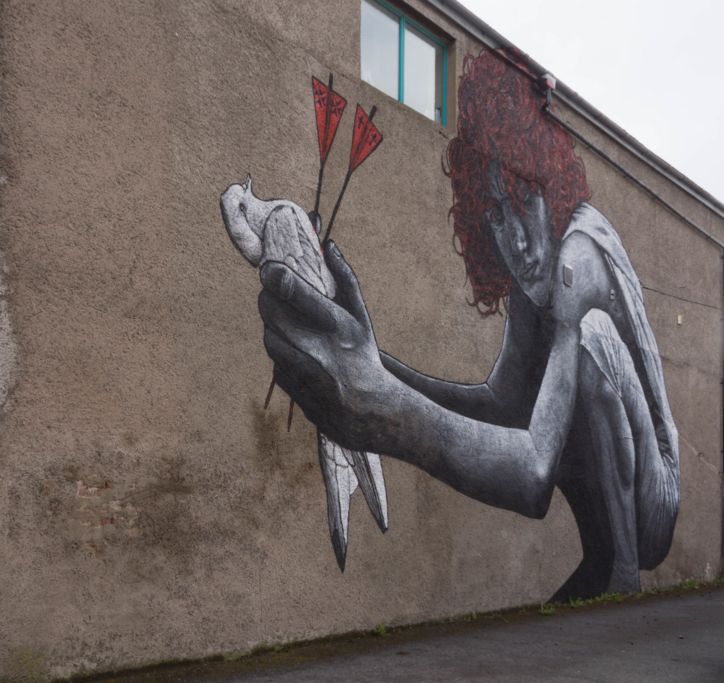 Street Art In Belfast [May 2015] REF-104665