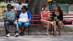 Bench time - part 3 (Marija Vujosevic) Tags: park parque people bench faces gente cuba banco kuba
