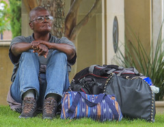 CHIN HELD HIGH (sadler0) Tags: street portrait people man bus men texas homeless riders poorpeople busriders