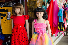 (RM Ampongan) Tags: city color girl doll dress sister philippines fabric only sur bicol pinoy manikins camarines iriga tatak