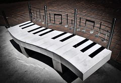 Bench (terri_mcclanahan) Tags: bench interesting unique creative piano musical