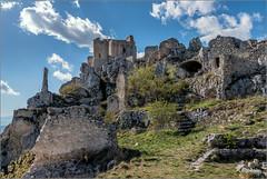 Rocca Calascio (AQ) (Luigi Alesi) Tags: italy castle landscape nikon scenery italia raw d750 castello architettura rocca paesaggio aq abruzzo laquila rovine costruzioni calascio