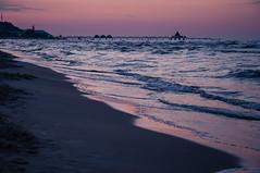Ahlbeck (Oliver Goettfert) Tags: blue sea beach night strand meer ostsee usedom ahlbeck