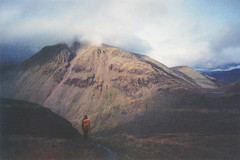 (auspices) Tags: mountain 35mm landscape lomo lomography exposure double mountaineering scafell pike