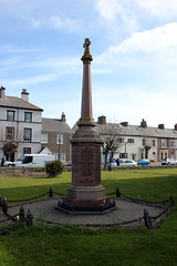 Silloth. (boneytongue) Tags: england port private town seaside industrial victorian tourist resort cumbria council housing solway silloth firth