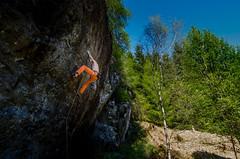 DSC_6236-2 (Fras333) Tags: rock climb countryside perthshire climbing rockclimbing strathyre schist sportclimb
