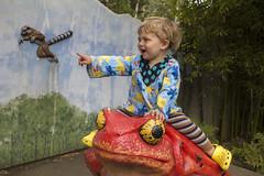 Woah! (quinn.anya) Tags: red zoo sam frog climbing lemur pointing oaklandzoo hypnotoad toddleer