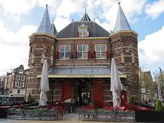 Waag, Amsterdam (Stewie1980) Tags: holland netherlands amsterdam facade canon nederland powershot waag nieuwmarkt gevel sx130 sx130is canonpowershotsx130is