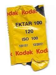 Agfa-Ansco B2 Cadet Box camera - Kodak Film for the camera (bigjohn1941) Tags: camera color film for kodak box b2 100 agfa ansco cadet ektar