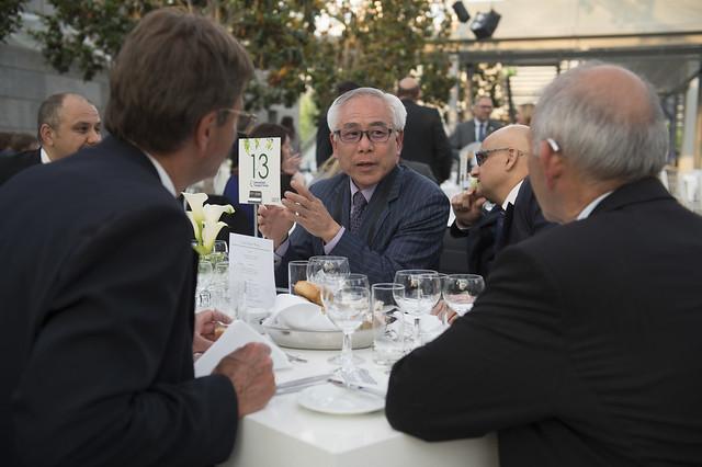 Yoshitsugu Hayashi at the Gala Dinner