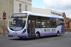 First Eastern Counties 47506 SN64CRF (Will Swain) Tags: great yarmouth 14th may 2016 south east norfolk town bus buses transport travel uk britain vehicle vehicles county country england english centre first eastern counties 47506 sn64crf